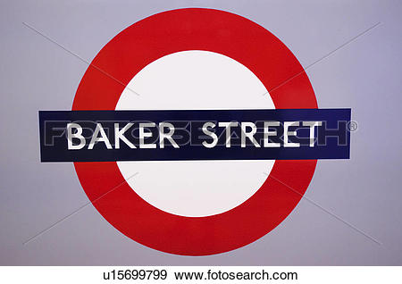 Stock Photograph of England, London, Baker Street. Baker Street.