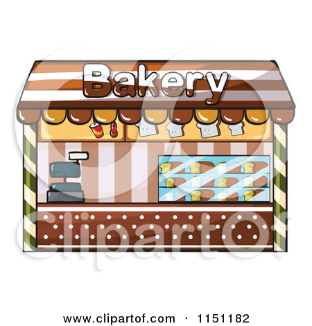 Clipart of a Bakery Shop.