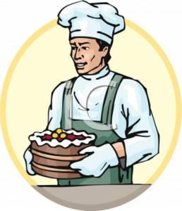 Baker Clipart.