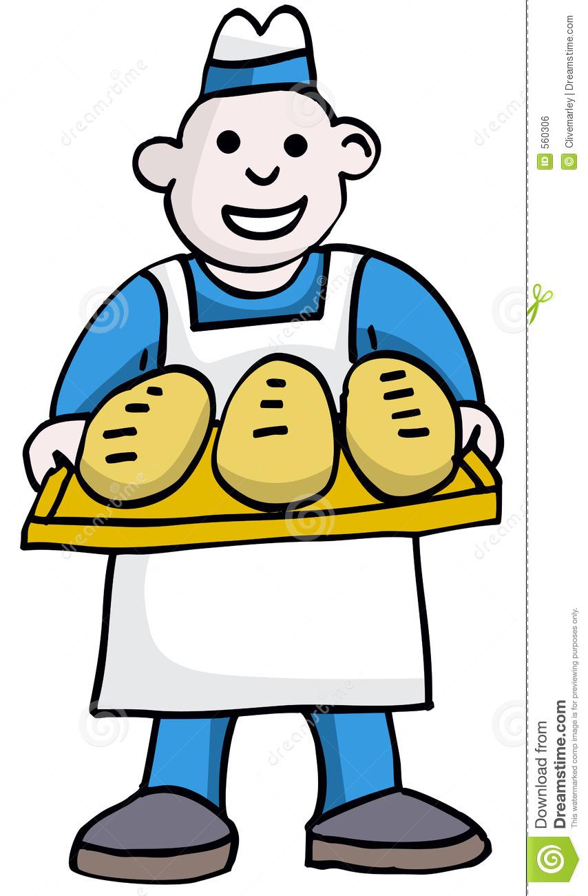 Free baker clip art images.