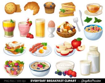 Bakers breakfast clipart #15