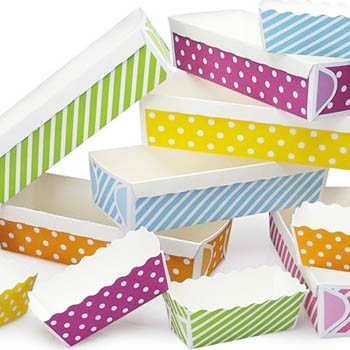 Bakery Packaging: Baking Cups, Bakery Bags, Cupcake Boxes & More.