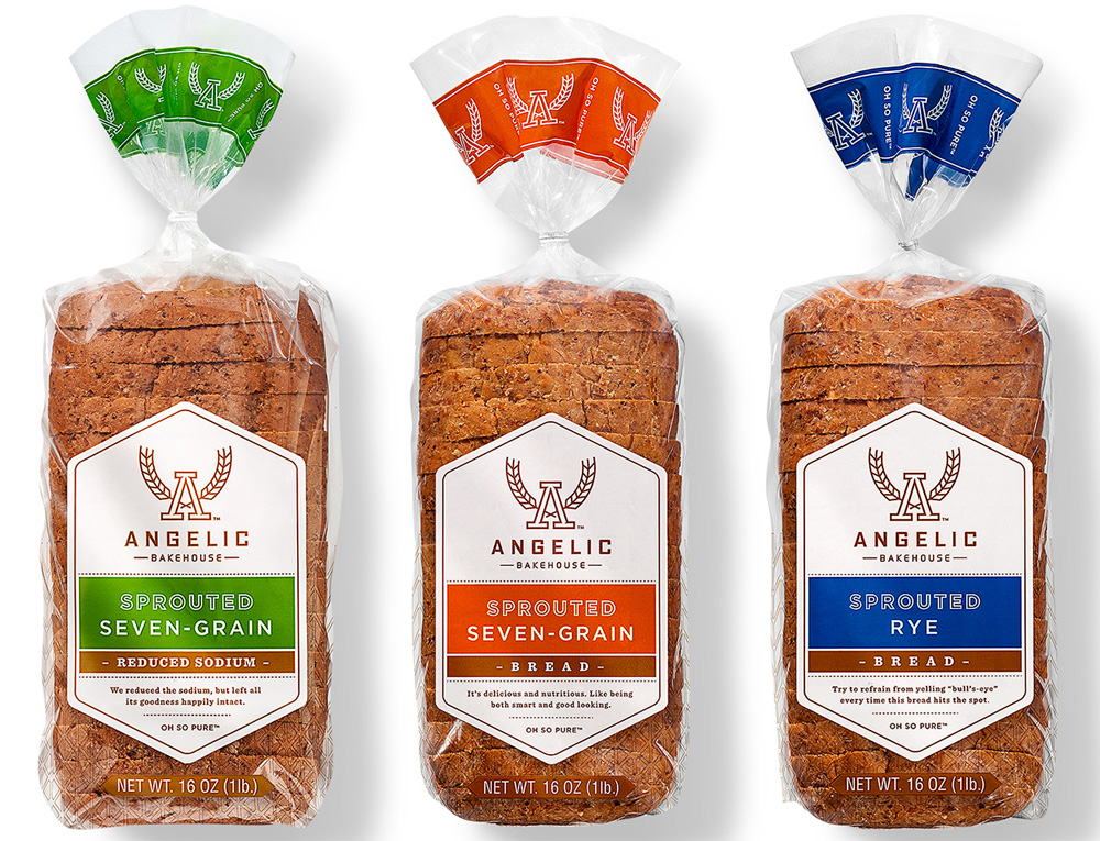 Brand New: New Name, Logo, and Packaging for Angelic Bakehouse by.