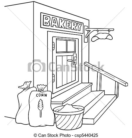 Bakery clipart black and white 1 » Clipart Station.