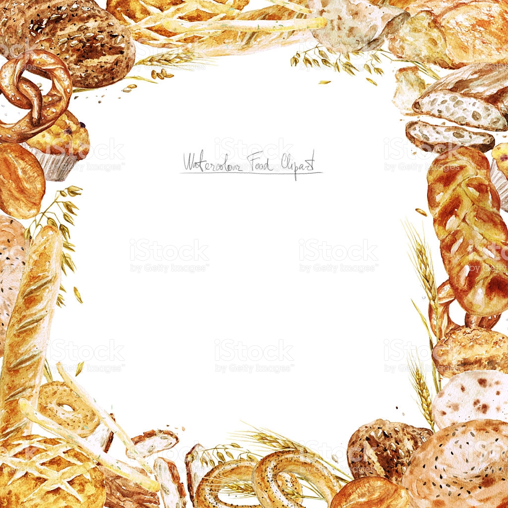Bakery clipart frame, Bakery frame Transparent FREE for.