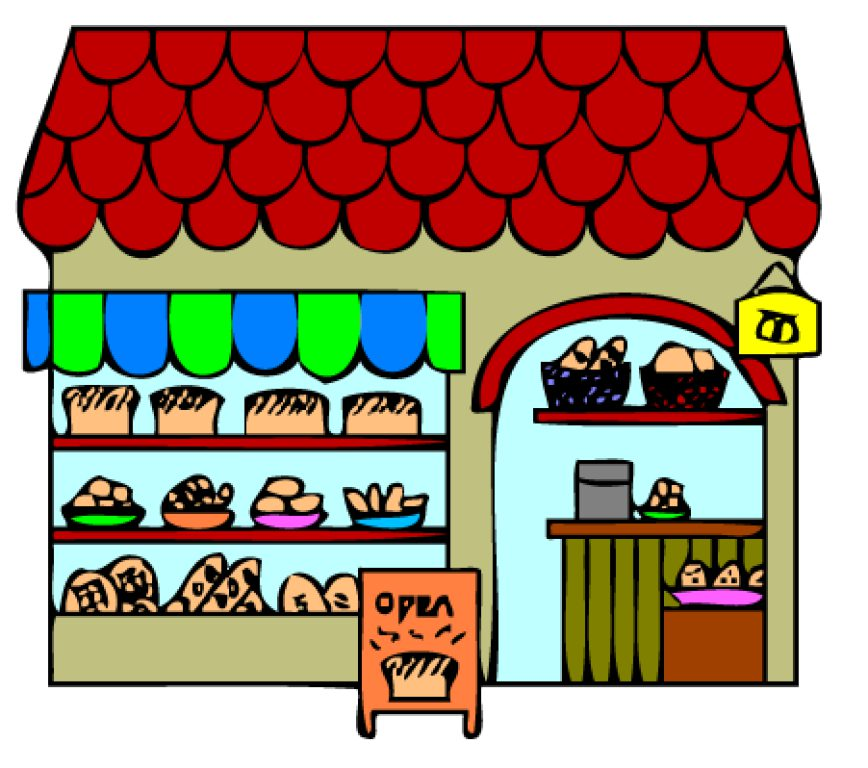 Bakery building clipart 2 » Clipart Station.