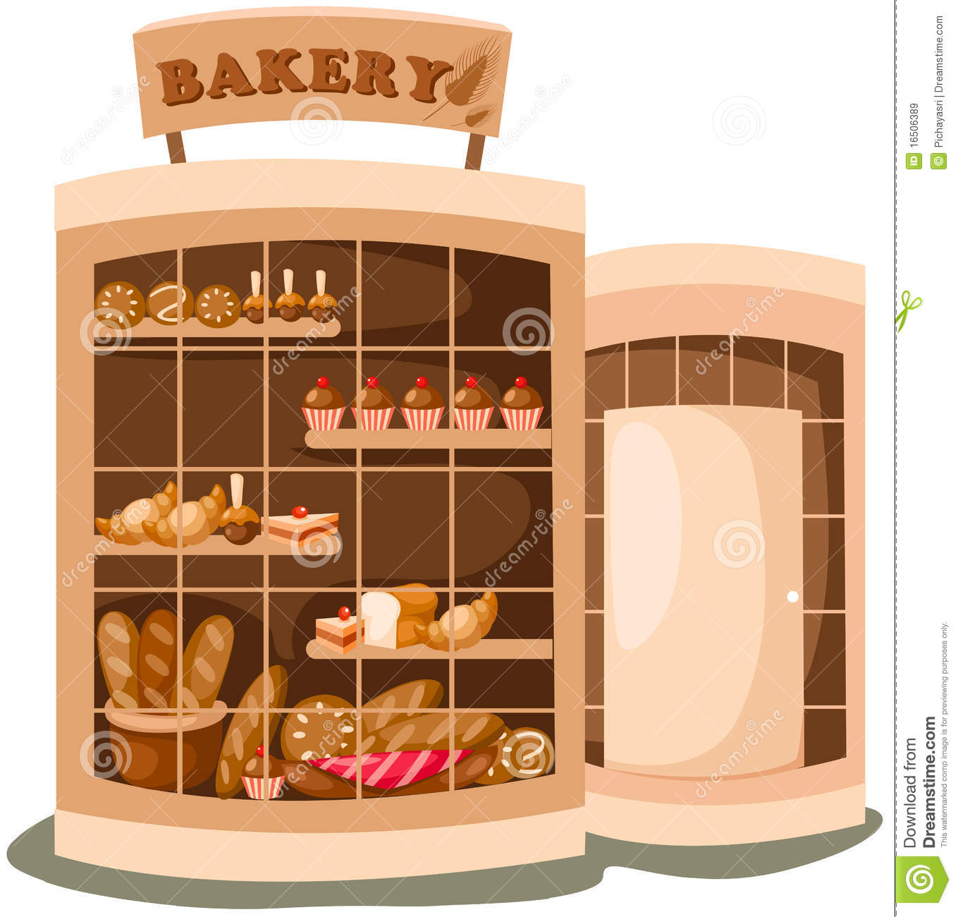 Bakery building clipart 6 » Clipart Station.