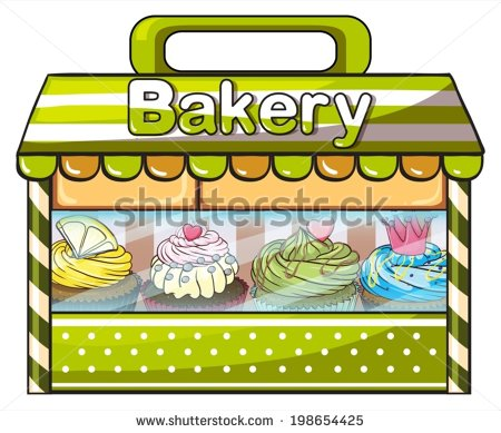 Bakery building clipart 1 » Clipart Station.