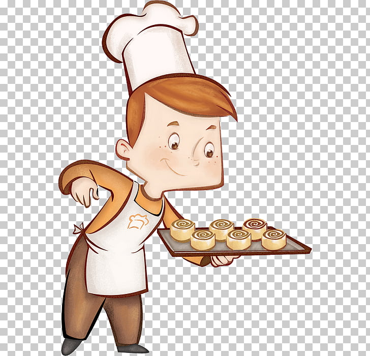 Bakery Cafe Pastry chef, enfant PNG clipart.