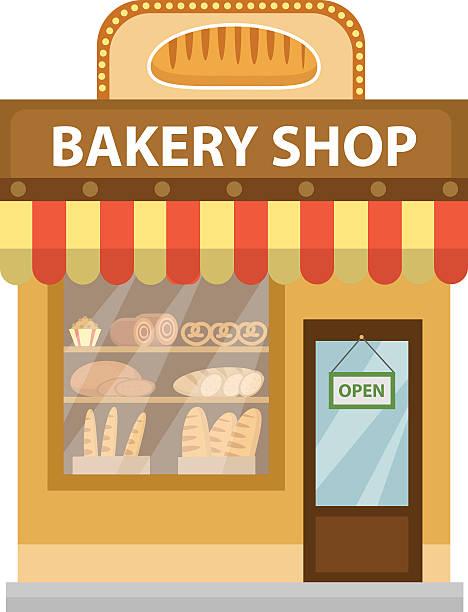 Best Bakery Shop Illustrations, Royalty.