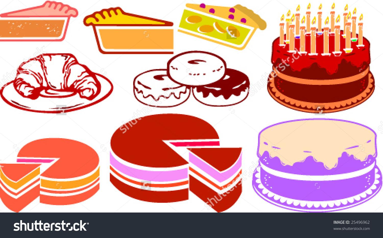 Bakery Clipart Stock Vector 25496962.