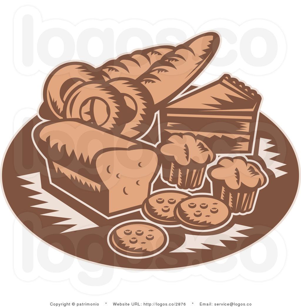 Bakery items clipart.
