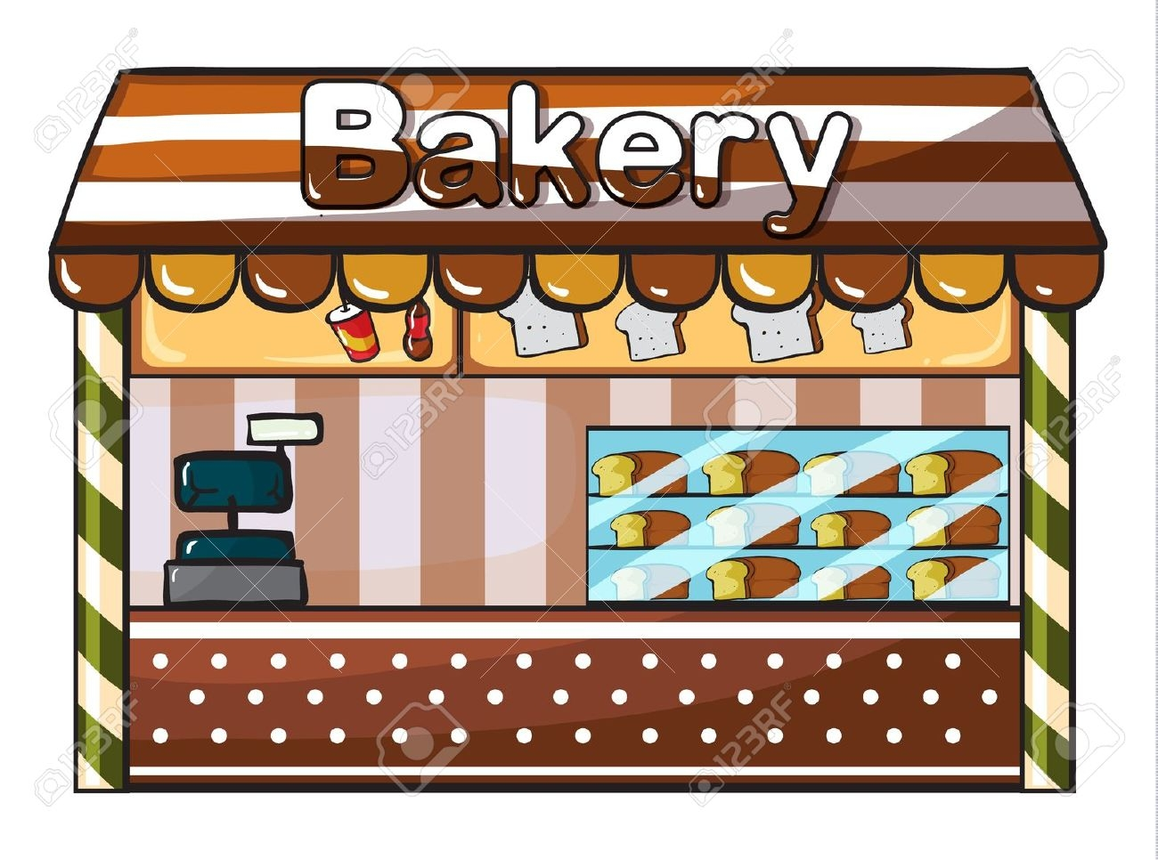 Bakery Clipart Images.