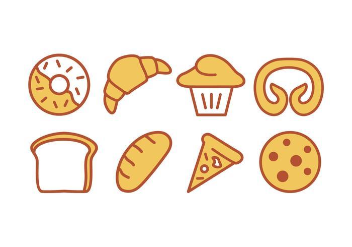 Bake and Bakery Icon Set.
