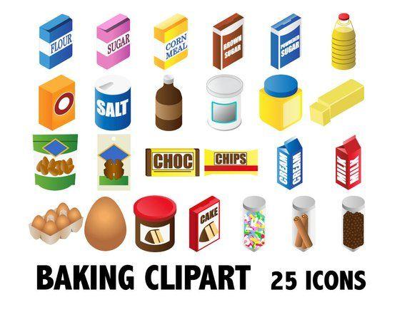 BAKING CLIPART kitchen clip art, bakery clipart, baking.