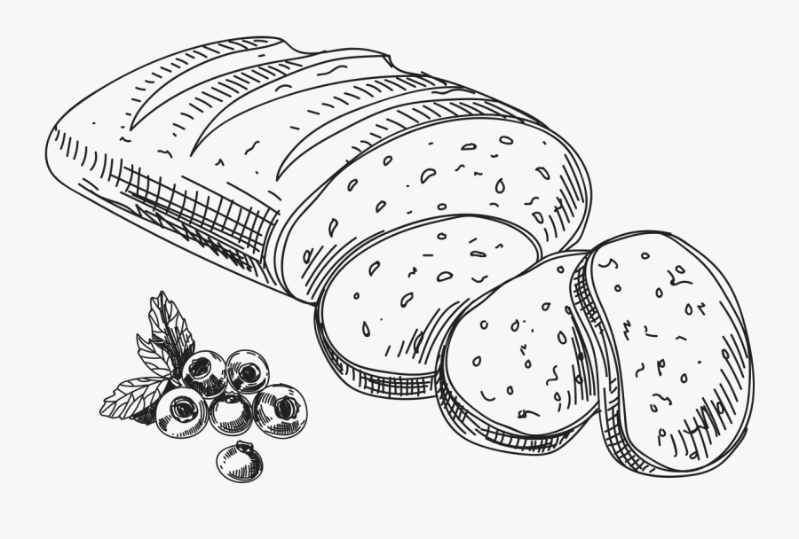 Black And White Bakery Items Png , Free Transparent Clipart.