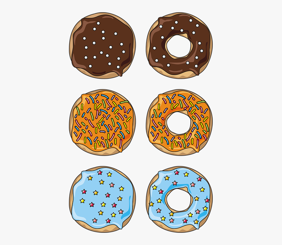 Bud Donuts The Cake Free Vector Graphic.