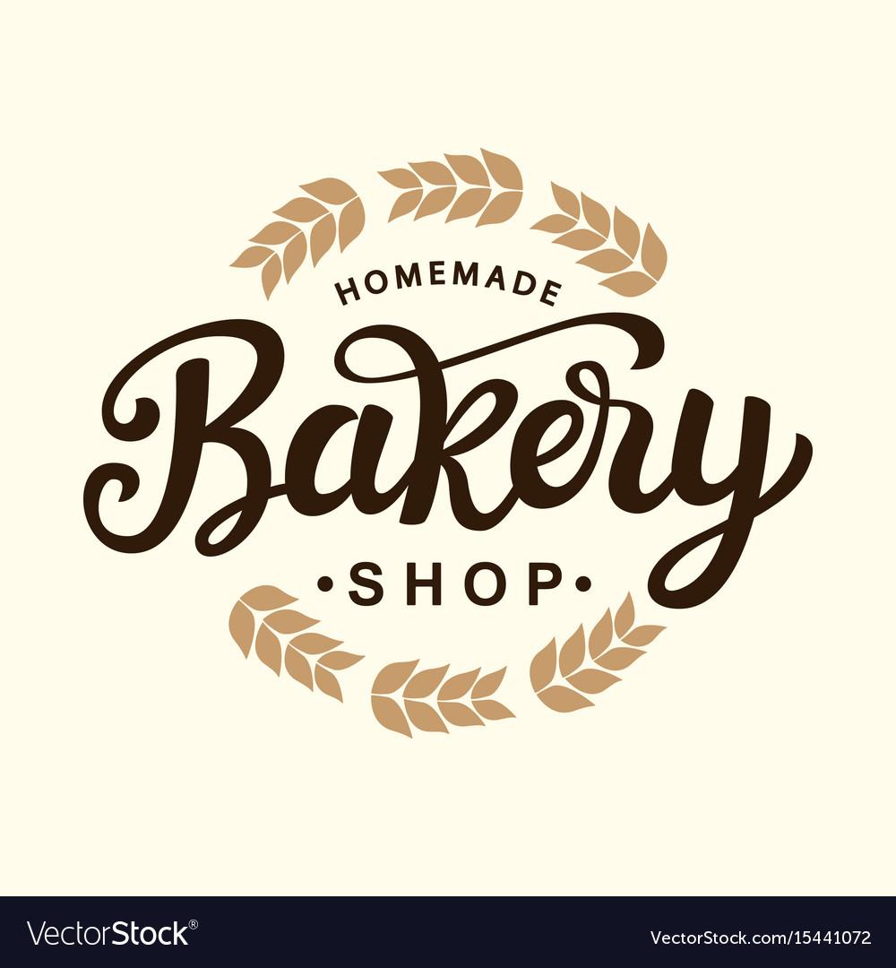Bakery logo template design.