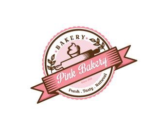 Pink Cupcake Bakery Designed by dalia.