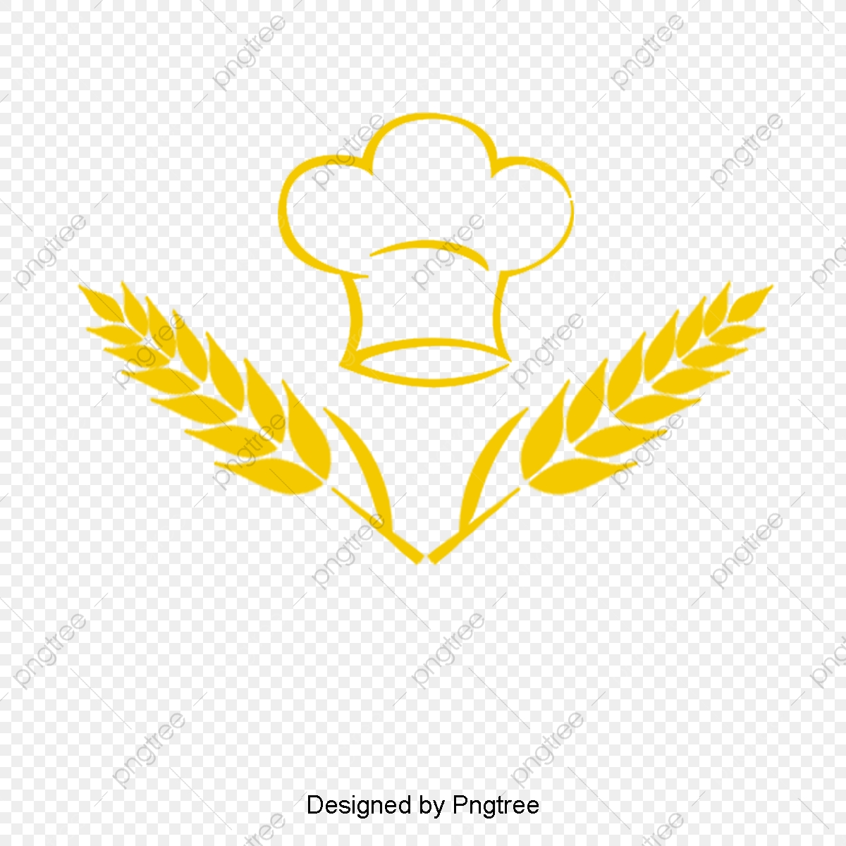 Yellow Wheat Bakery, Vector Png, Bakery, Wheat PNG Transparent.