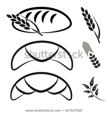 Vector Bakery Shop Symbols Black Simple Stock Vector (Royalty Free.