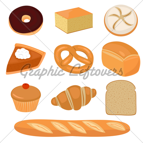 Bread clipart pastry, Bread pastry Transparent FREE for.