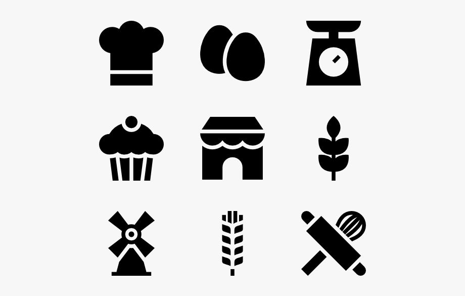 Clipart Bakery Vector.