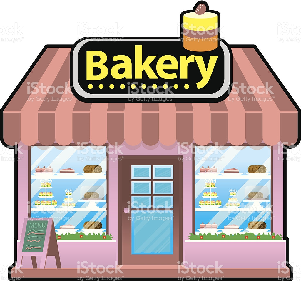 Bakery Store Clipart.
