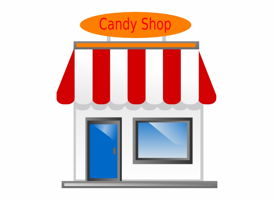 Shop Candy Clipart.