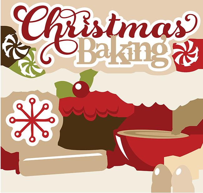 free christmas baking shopping list.