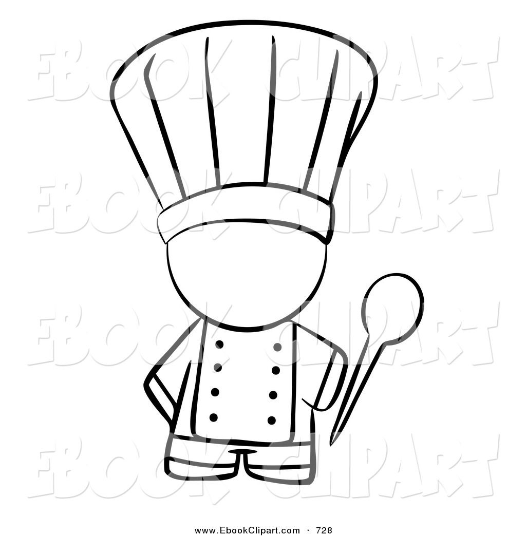 Images For > Cooking Clipart Black And White.