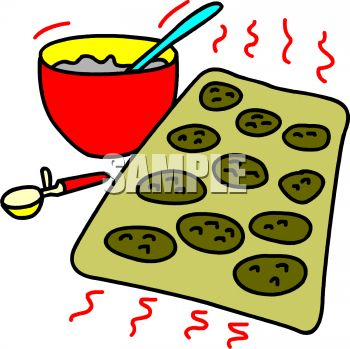 Baking cookies clipart 4 » Clipart Station.