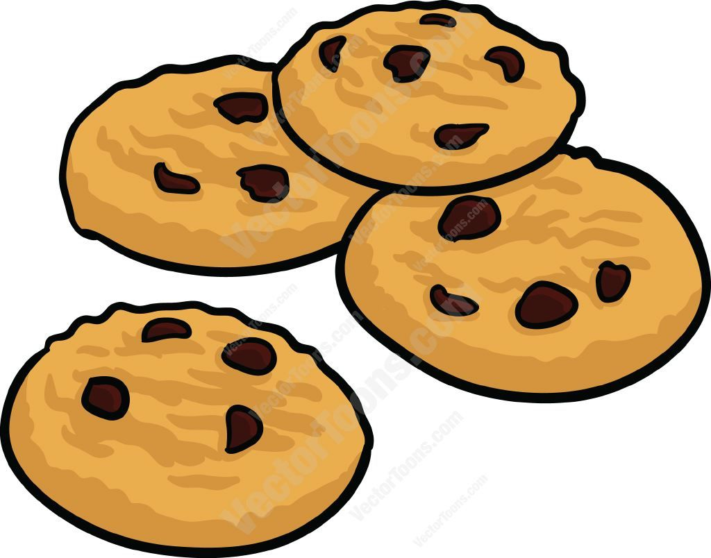 Chocolate Chip Cookies Clipart Cliparts Co.