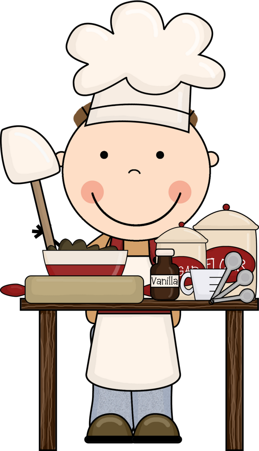 Kids kitchen clipart.