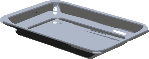 Baking tray clipart.