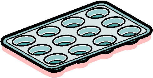 Baking Pan Clipart.