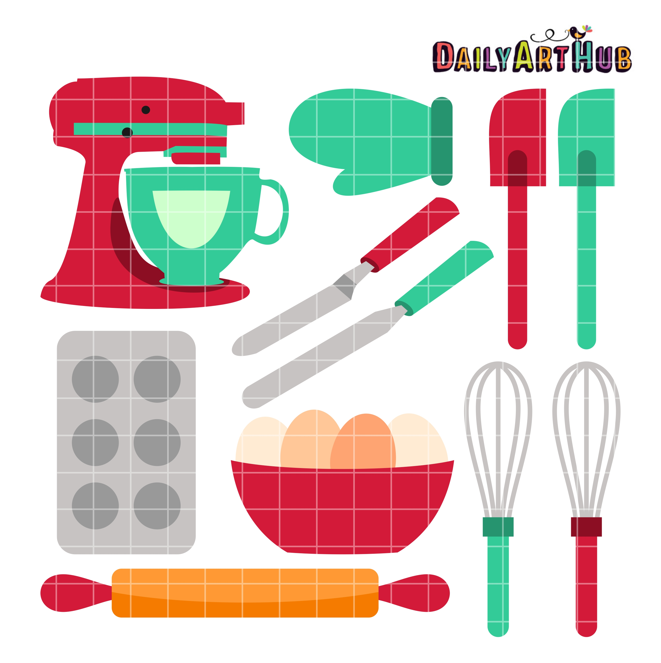 Baking tools clipart 6 » Clipart Station.