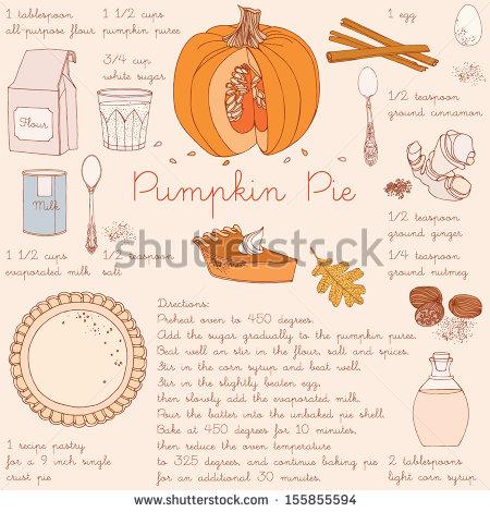 Pumpkin Pie Stock Images, Royalty.