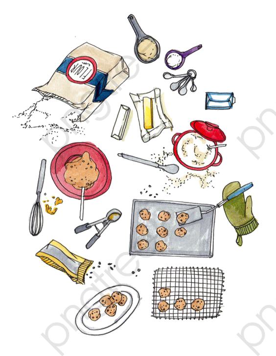 Baking Tools, Baking Clipart, Tools Clipart, Baking PNG Transparent.