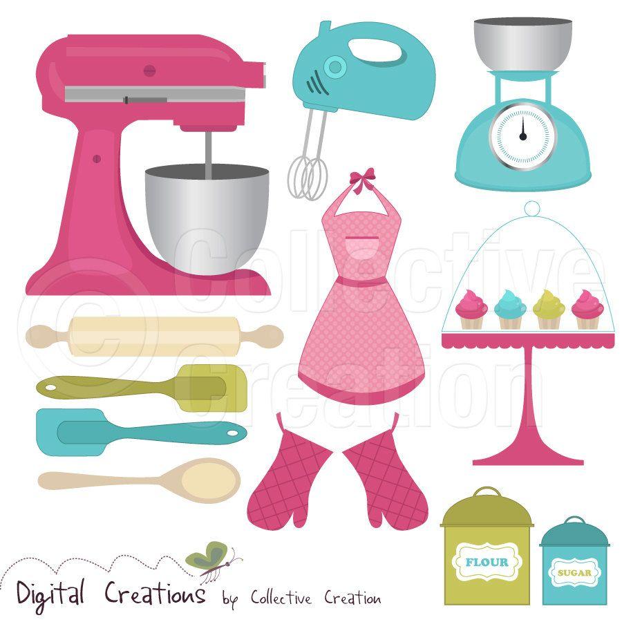 kitchen tools clip art.