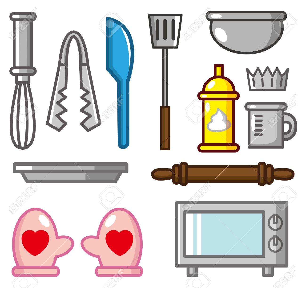 cartoon baking tool icon.