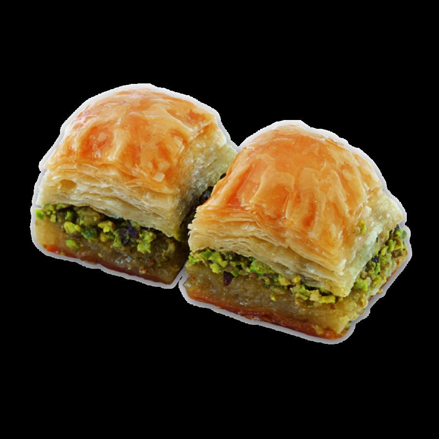Dry Baklava with Pistachio.