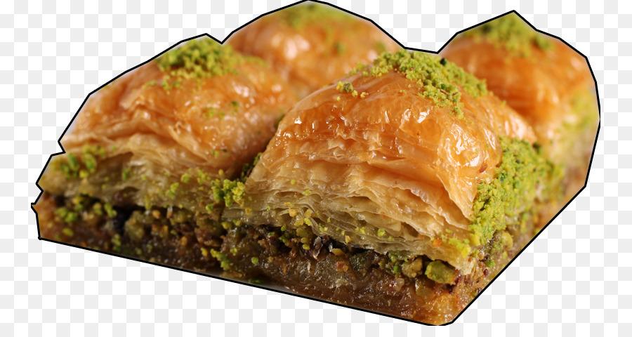 Baklava Food png download.