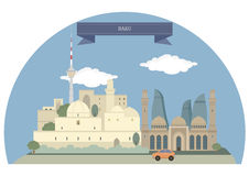 Baku Stock Illustrations.