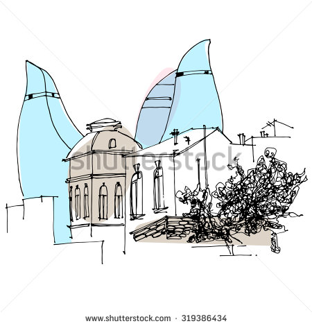 Baku Stock Vectors, Images & Vector Art.