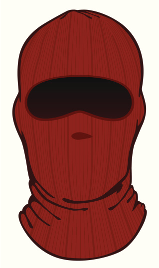 Knitted masks clipart #5