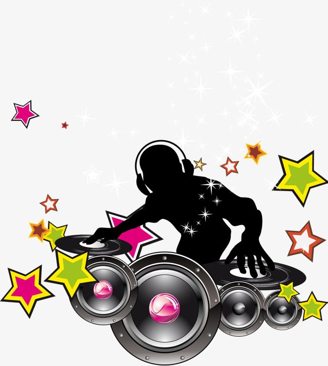 Dj Vector With Headset, With A Headset, Dj Vector, Music PNG.