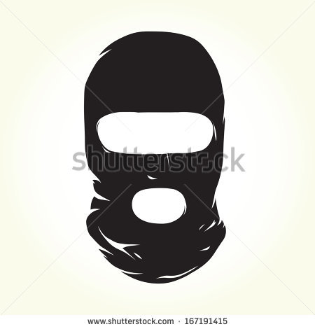 Vector Images, Illustrations and Cliparts: Balaclava isolated.