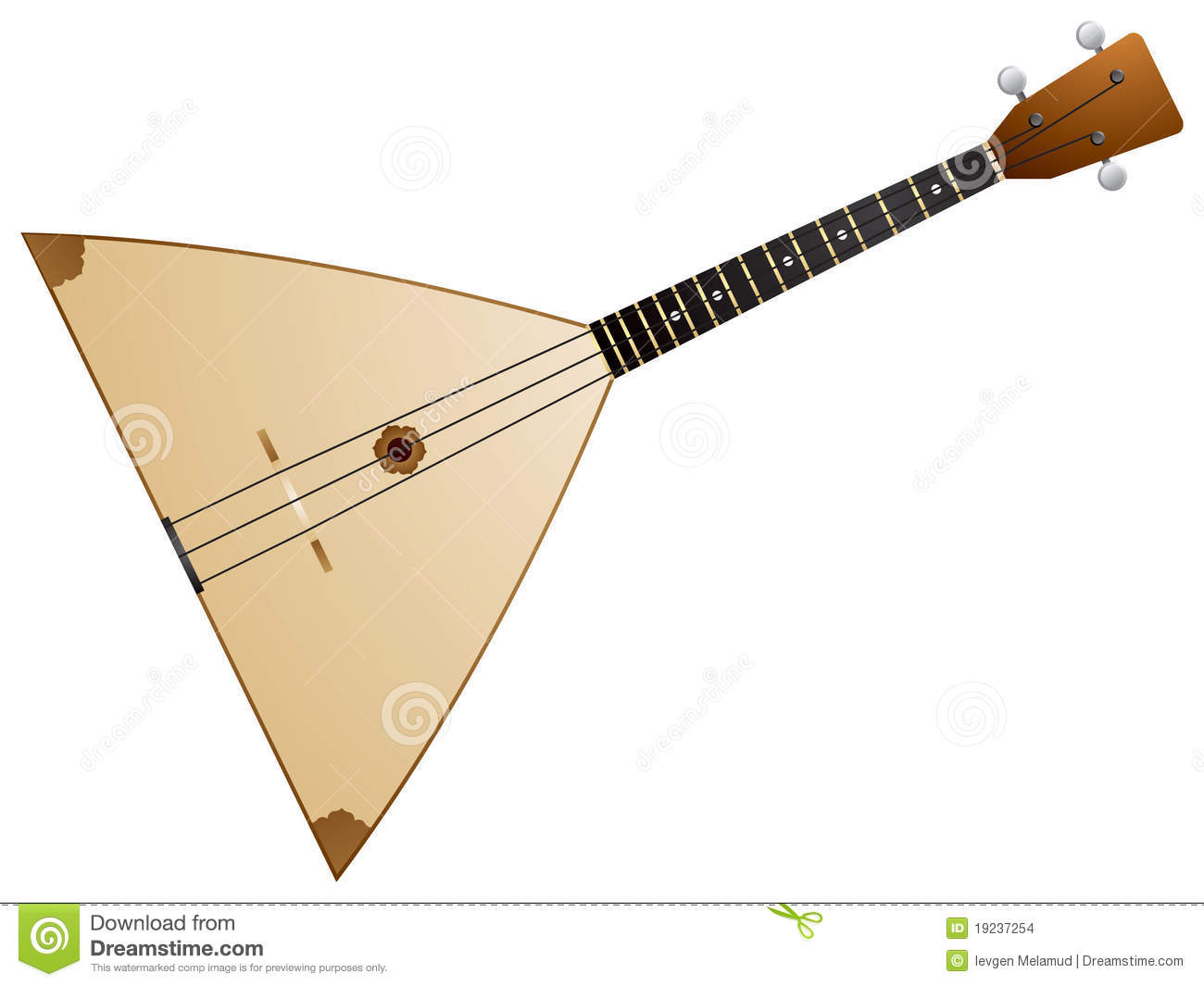 Balalaika Stock Illustrations.