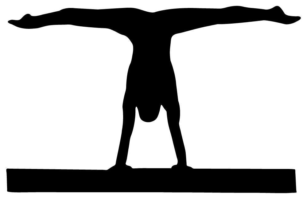 Gymnastics Silhouettes Transparent.